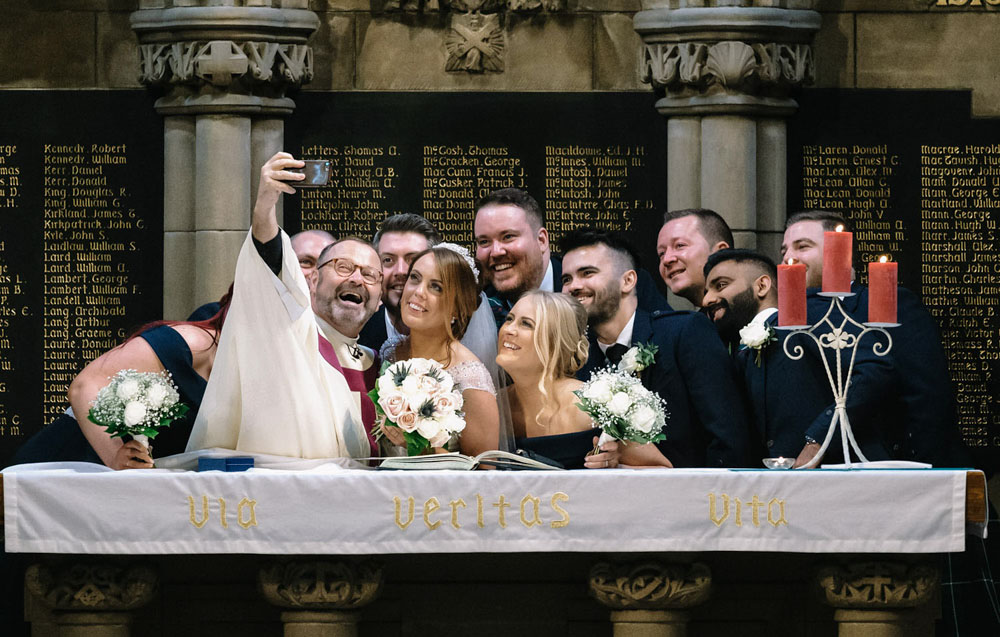 ImacImages Wedding Photography group photo website cover